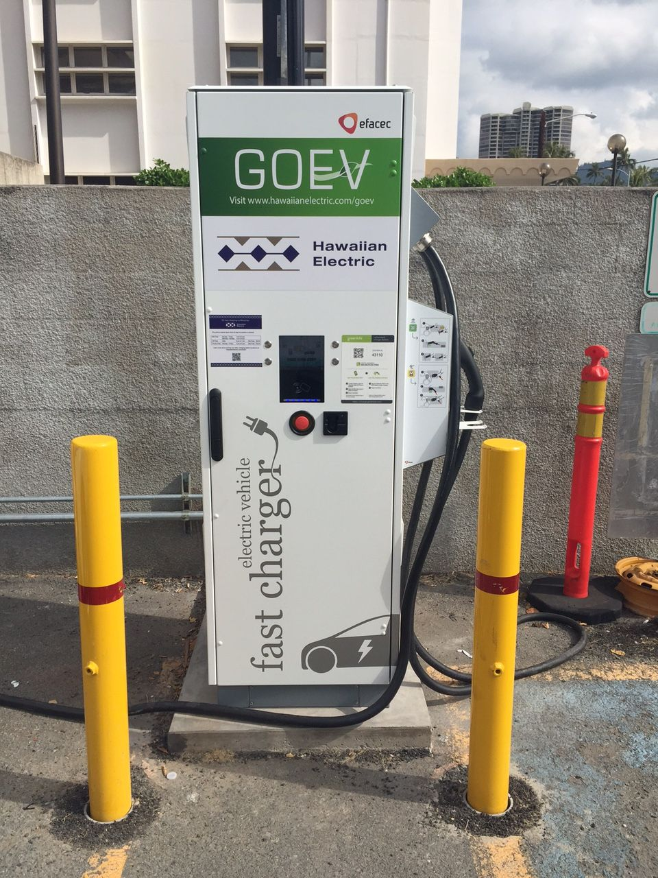 Our Electric Vehicle Dc Fast Charger At Ward Base Yard 820 Avenue
