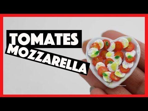 Tomates Mozzarella FIMO - YouTube