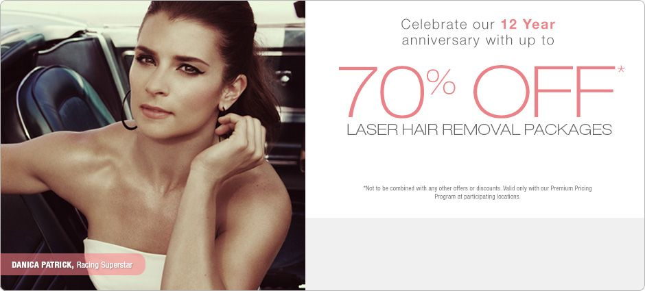 Laser Hair Removal Special at Ideal Image... or gift card