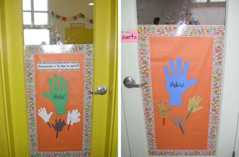 Spanish Clroom Ideas Myclroomideas Decorating Door Decorations