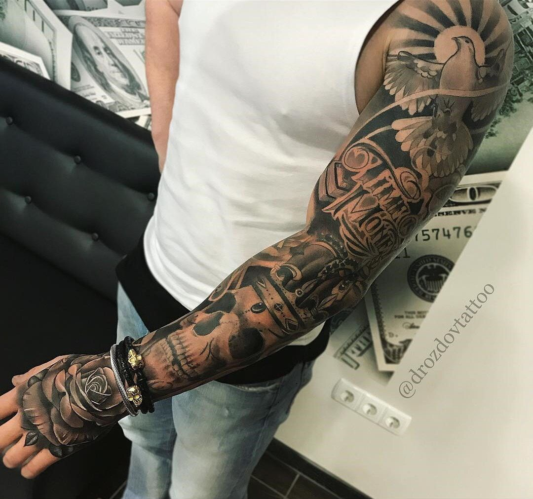 Chicano Tattoo Man Arm Sleeve Tattoos Tatoo Ideas Tree Catania Drawings