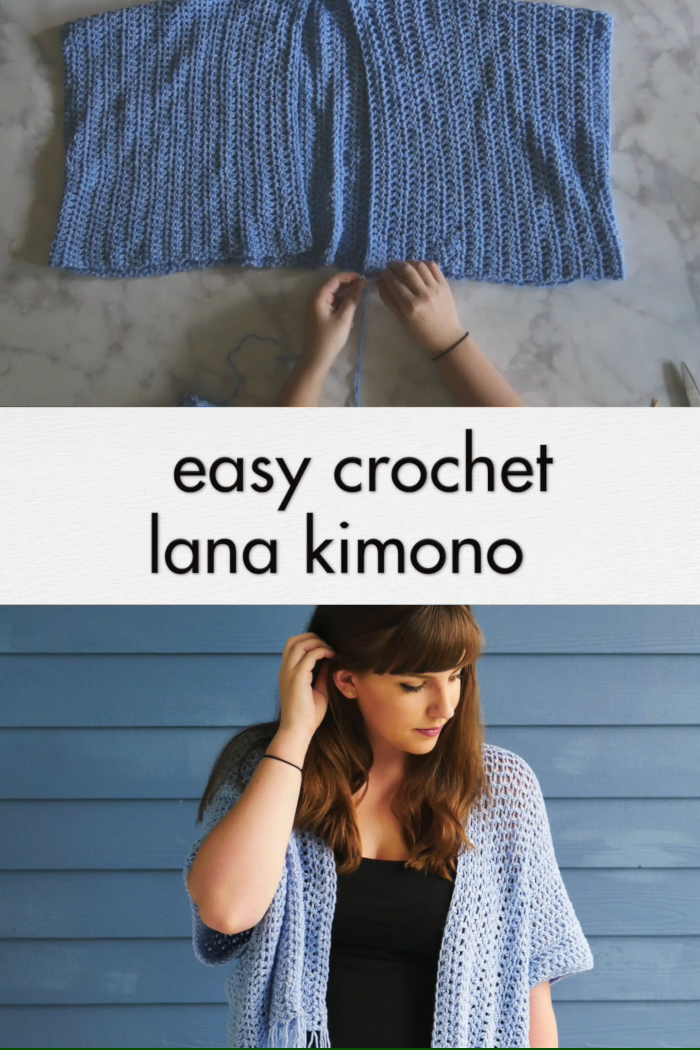Photo of Crochet Lana Kimono – free beginner pattern