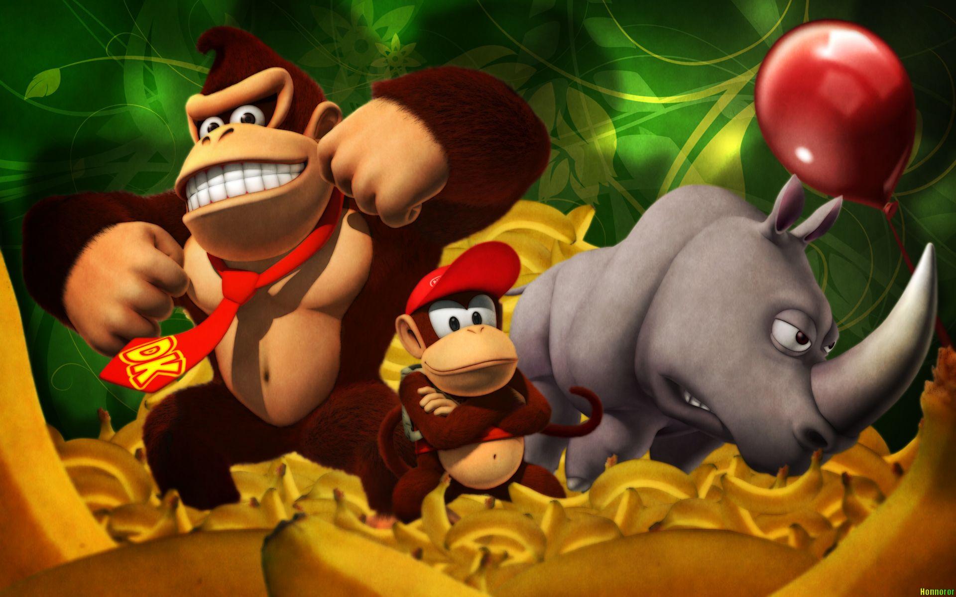 Donkey Kong Country Com Imagens Donkey Kong Marketing Digital