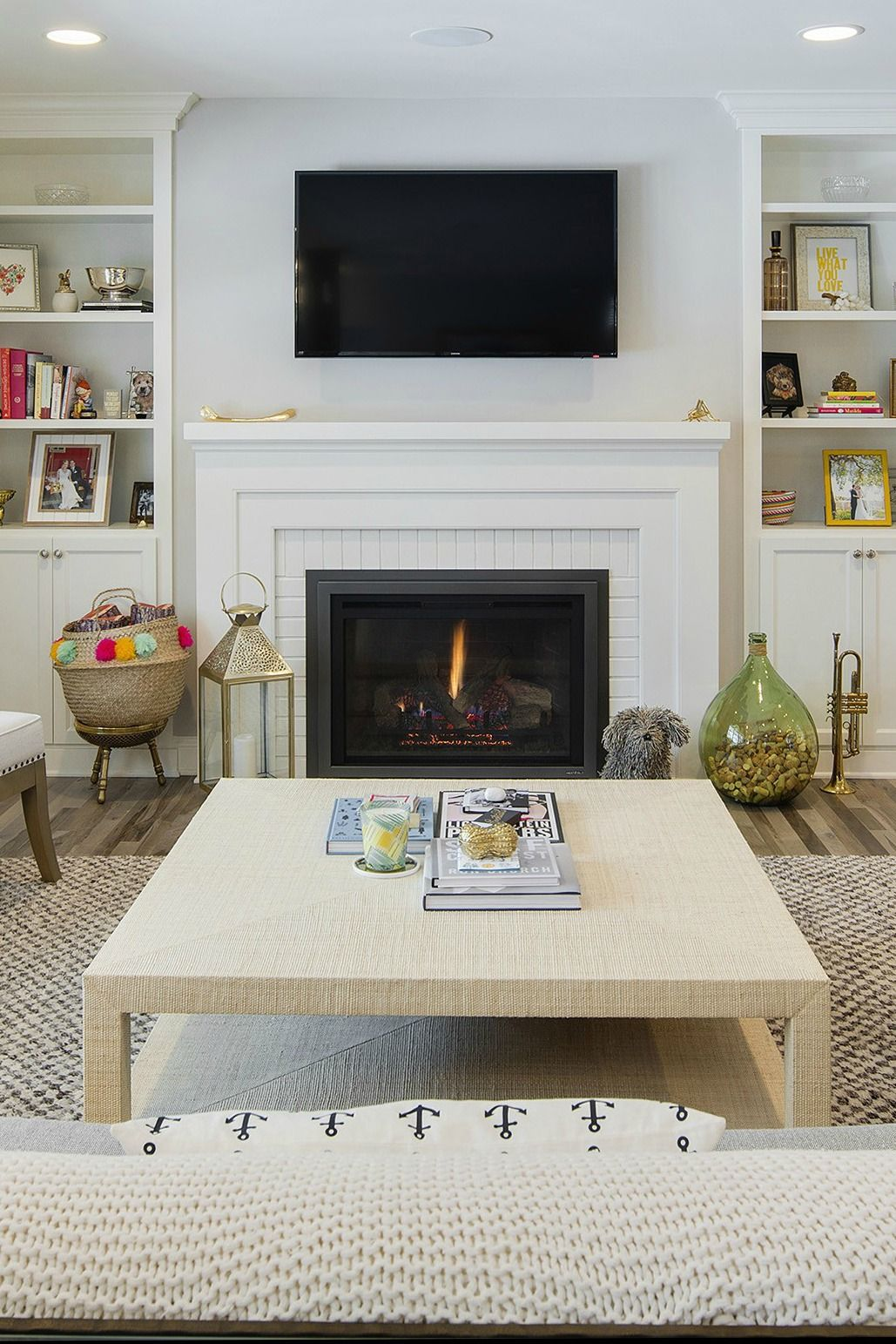 27+ Stunning Fireplace Tile Ideas for your Home | Pinterest ...