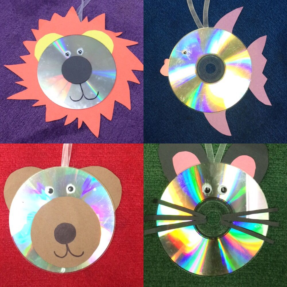 animals into cds kids craft library crafts elementary crafts