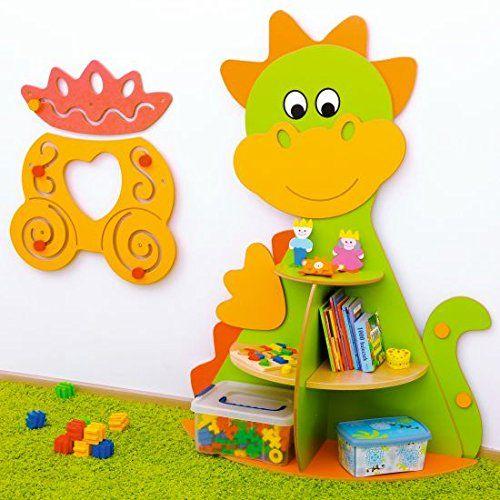 Omg ist das s ss kinderzimmer regal drache perfekt f r das kinderzimmer kleiner ritter - Kinderzimmer ordnungssystem ...