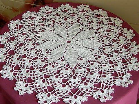 Resultado de imagen para modelos de tapetes a crochet paso a paso ...