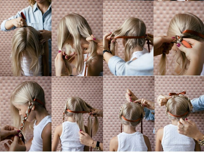 15 Photos Of The Easy Hairstyle For Girls Step By To Try At Home