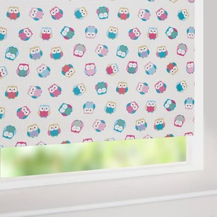 Owl Blackout Roller Blind | Dunelm This Is Going On The Kitchen Window. We  Couldn