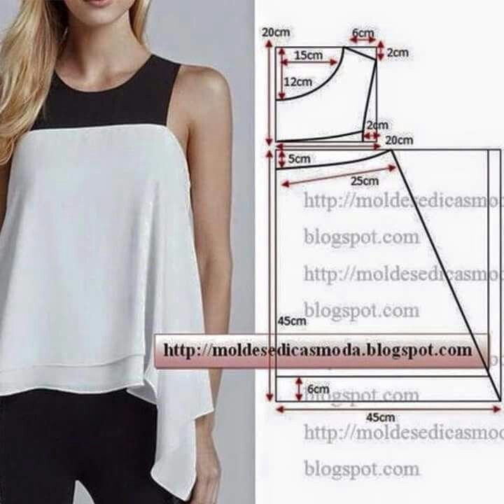 Pin by Thailin Matamoros on patrones de costura | Pinterest | Dress ...
