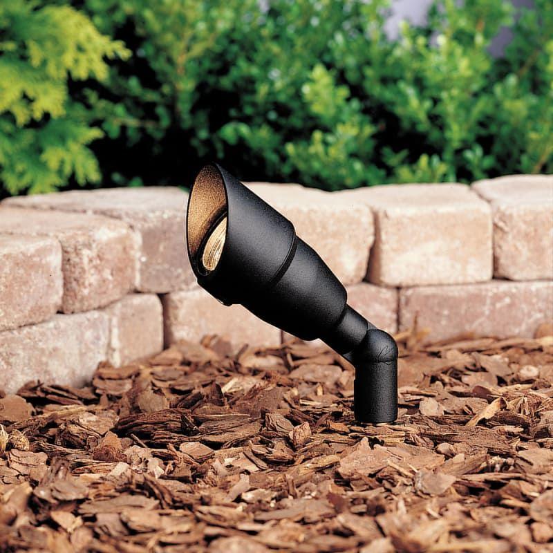 Kichler 15374BKT20L24 Textured Black Single Light 12V Mini Accent Landscape Light - Package of 24