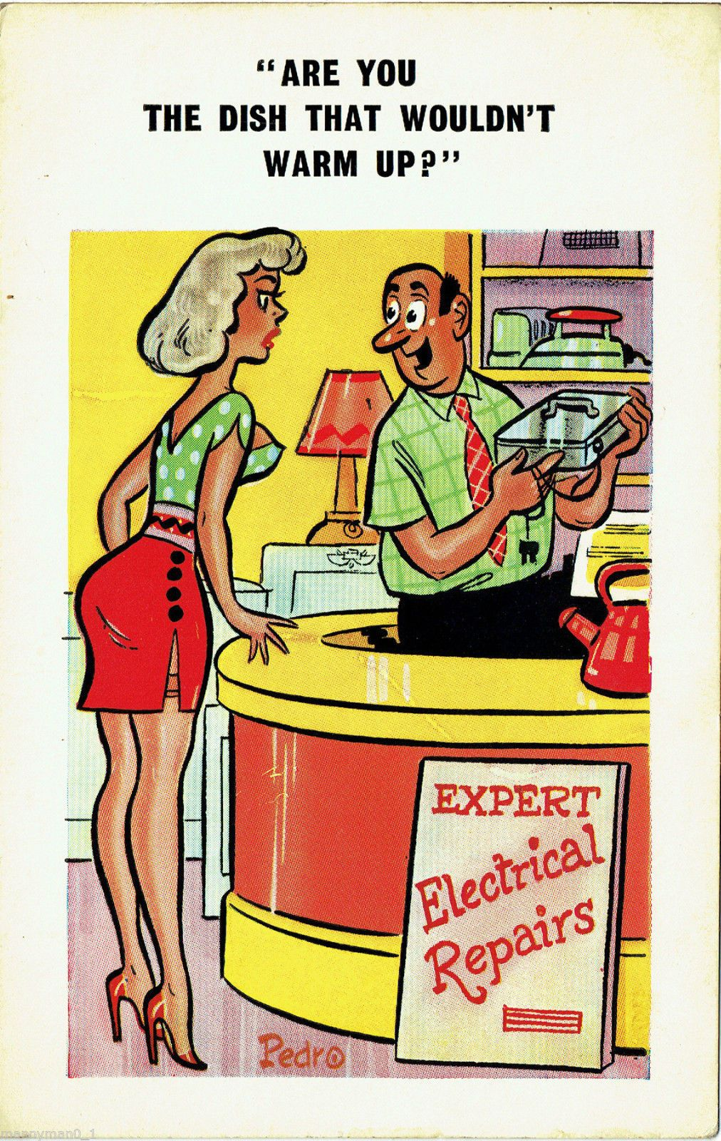 1950s adult humor