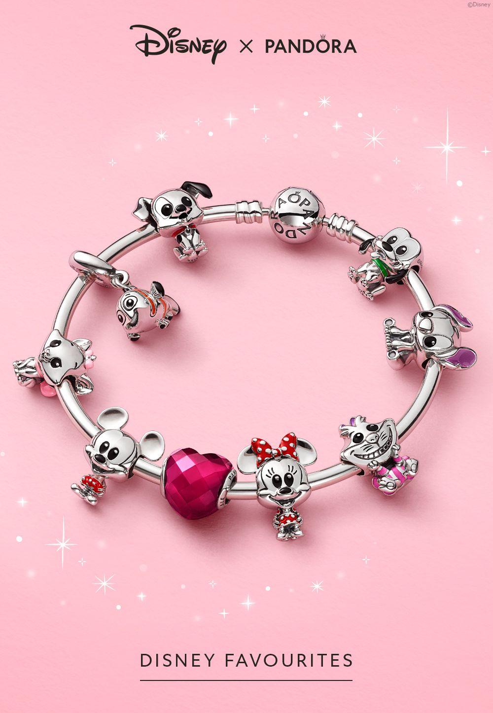 Introducing Disney Favourites | Pandora bracelet designs, Pandora ...