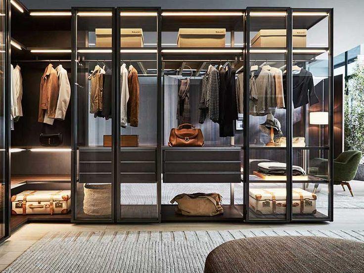 Kleiderschranke Begehbare Kleiderschranke Design Interieur Mobel
