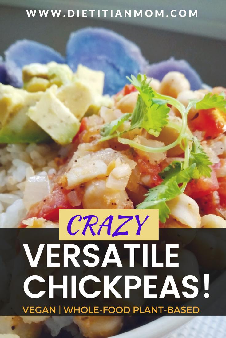 Crazy Versatile Chickpeas