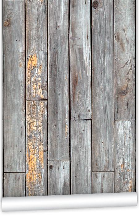 Kem059w Rustic Wood Panels Wallpaper By Kemra Wood Pattern Wallpaper Rustic Wood Vintage Wood