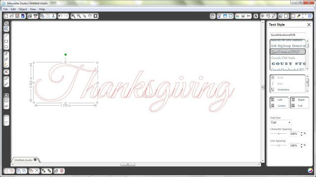 Silhouette Blog Monday Tutorial Arranging Text & Editing