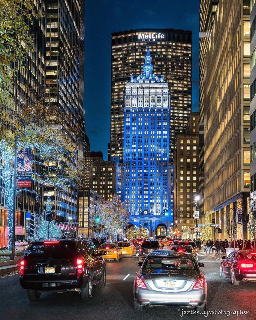 Manhattan To New York City: Park Avenue, Manhattan, NYC By Jazthenycphotographer