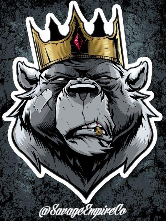 SAVAGE KING STICKERS