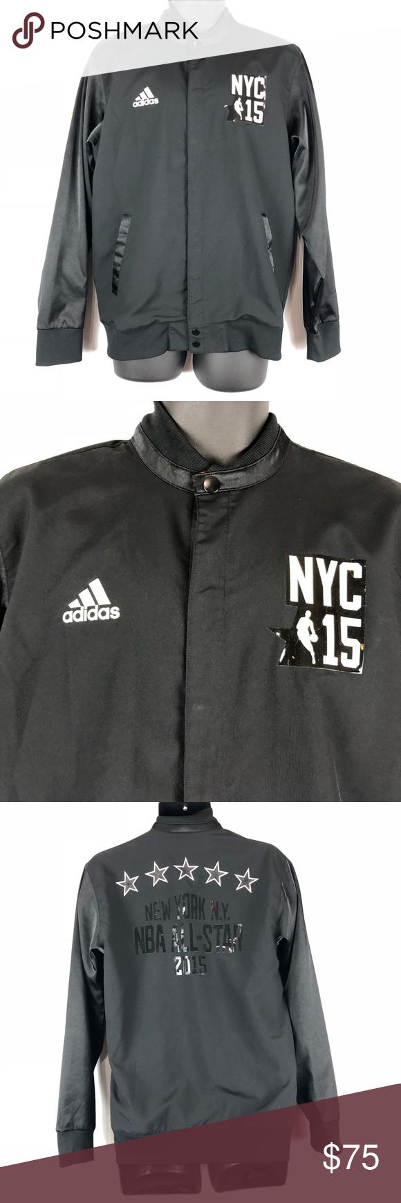 36ac8be0f95 Adidas 2015 NBA All Star Warm Up Jacket Adidas 2015 NBA All Star Warm Up  Jacket Size Medium EUC NYC never worn adidas Jackets   Coats Bomber    Varsity