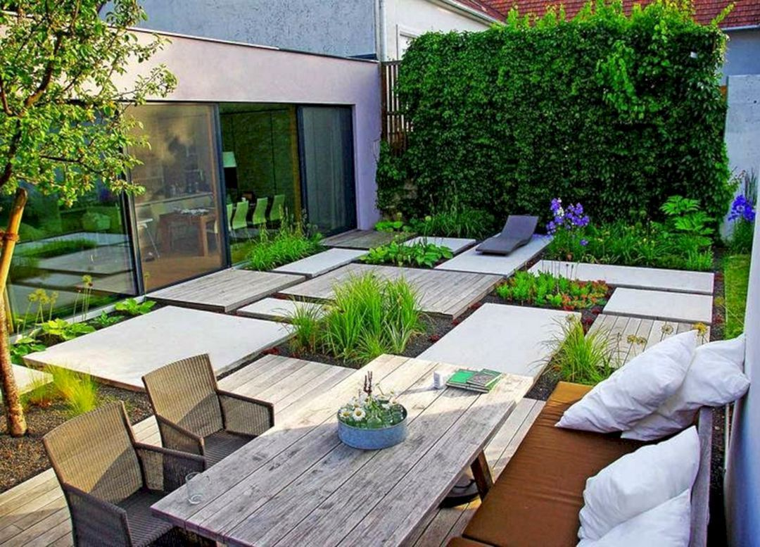 50+ Incredible Calming Minimalist Garden Design Ideas ...