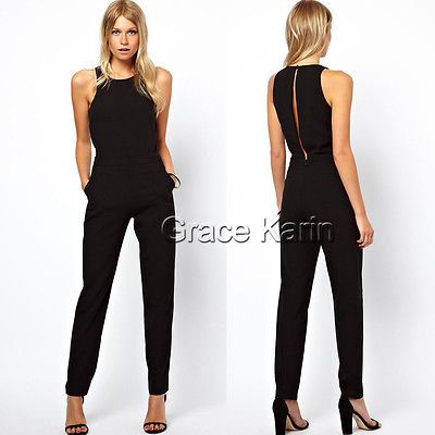 9cb8cc5cc7b3 New Sexy Women Ladies Sleeveless Bodycon Jumpsuit Romper Trousers Clubwear  Pants - BUY NOW ONLY 8.99