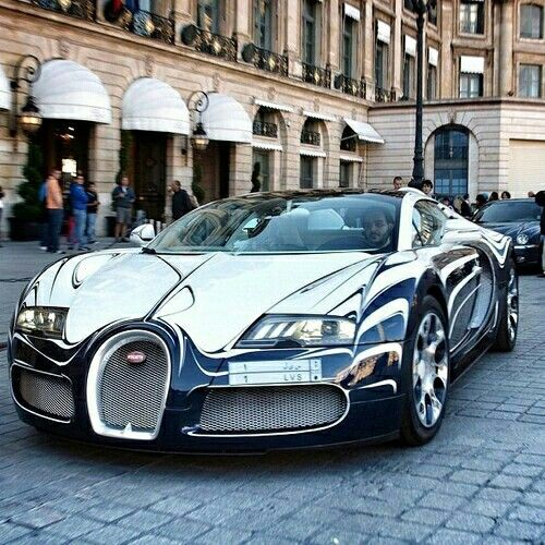 bugatyy beyron cromado 289 lujosos pinterest cars bugatti and dream cars. Black Bedroom Furniture Sets. Home Design Ideas