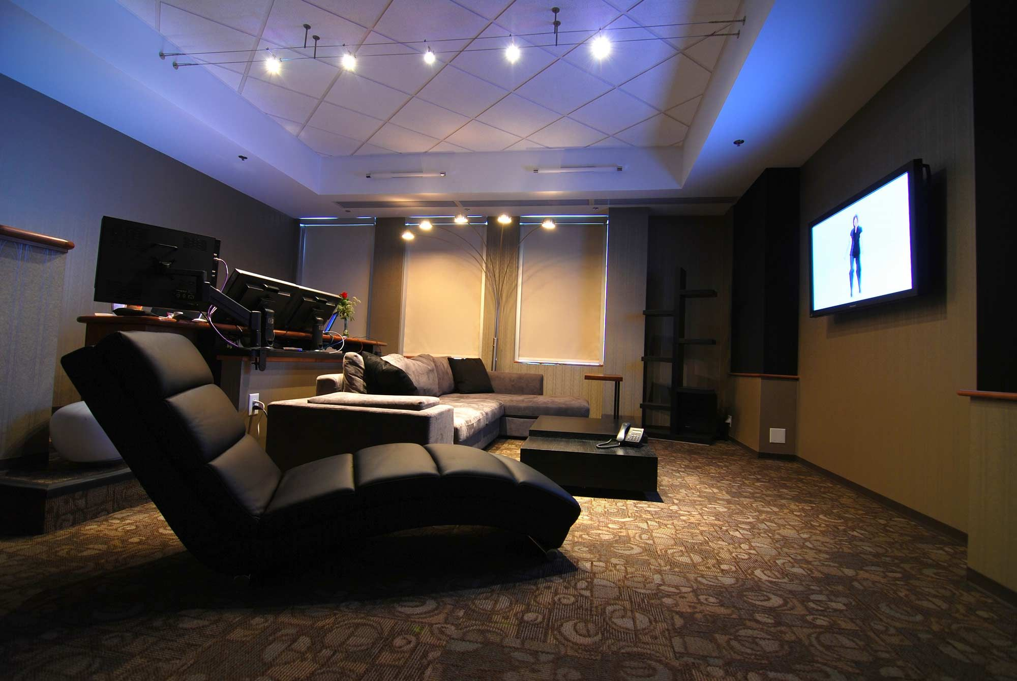 One of Crawford's Editing Suites | The Office | Pinterest ...