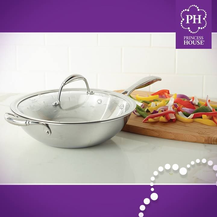 With Our Princess Heritage Stir Fry Pan You Will Be On Your Way To