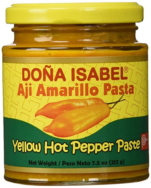 Doña Isabel Aji Amarillo Molido (Yellow Hot Pepper Paste