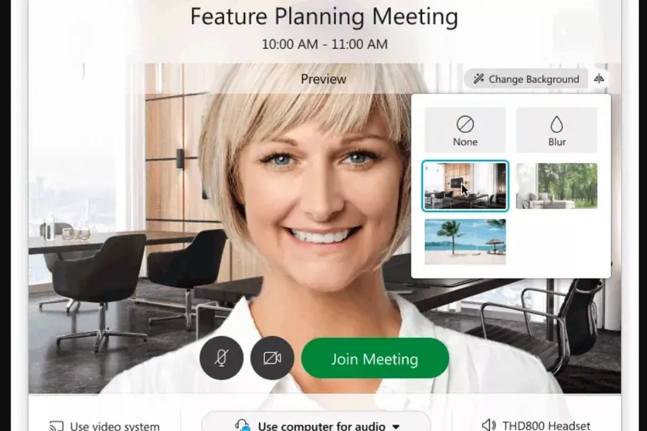 Cisco's Webex videoconferencing software now lets you set