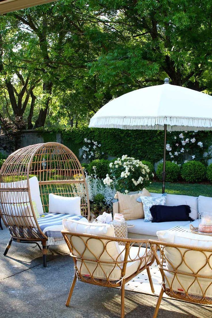 Backyard Party Ideas and Recipes | 1000 | Outdoor patio ...