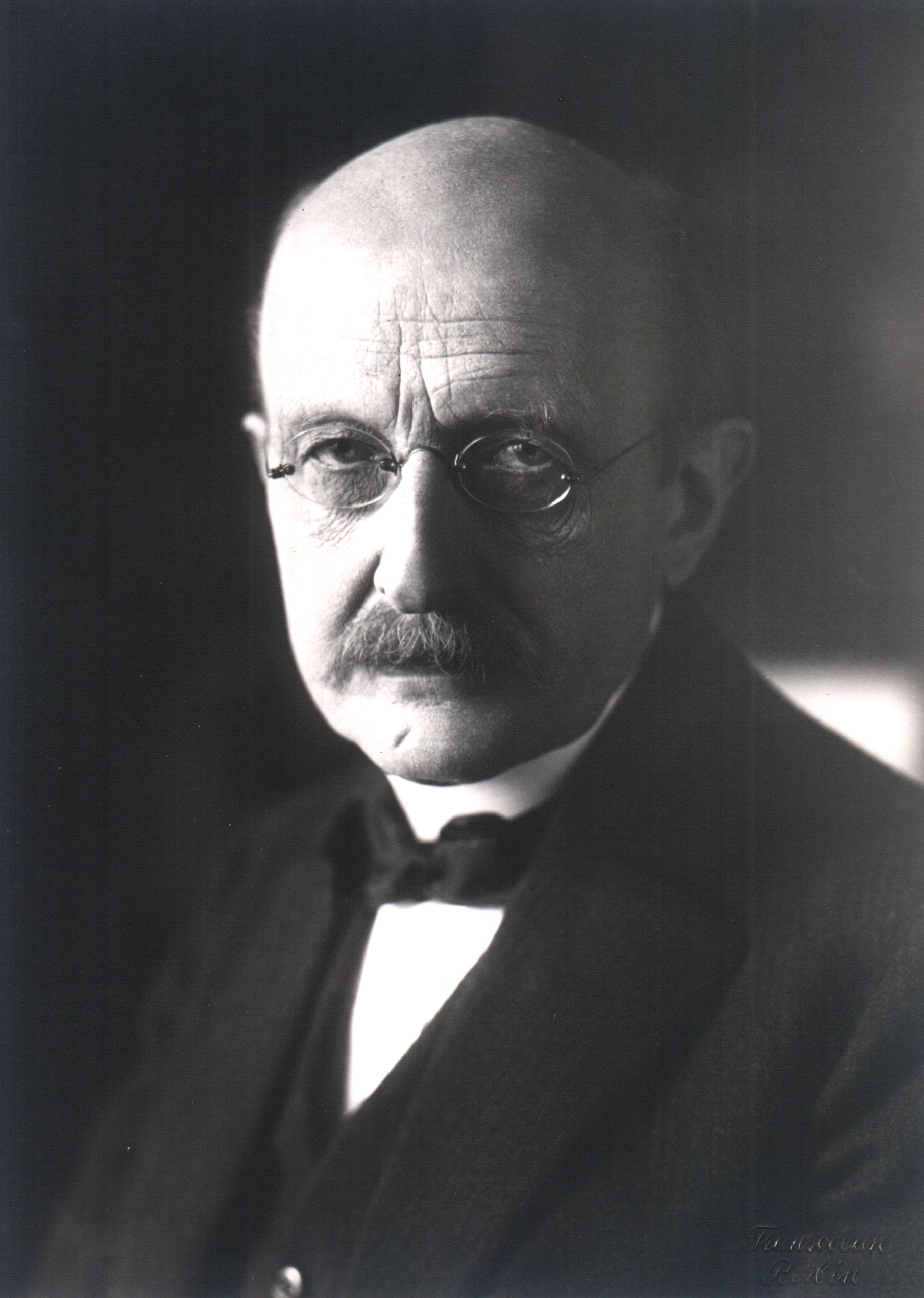 Max Planck - the inventor of the only unit of spacial measurement that makes any sense *as far as I'm aware*.