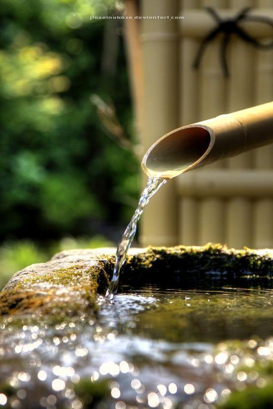 Shishi Odoshi Prezzo.Bamboo Water Feature Japan Water Features Water Garden