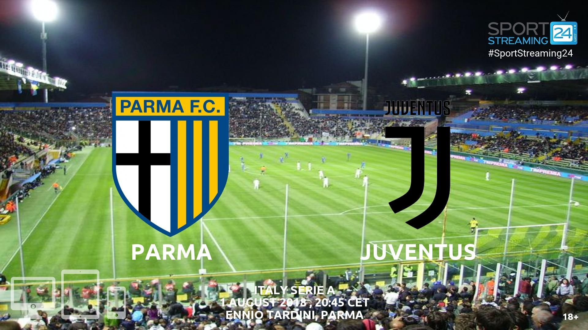 Parma v Juventus Live Streaming Football Juventus live