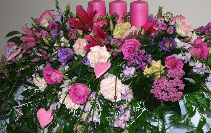 Portfolio Wnetrza Floral Wreath Floral Decor