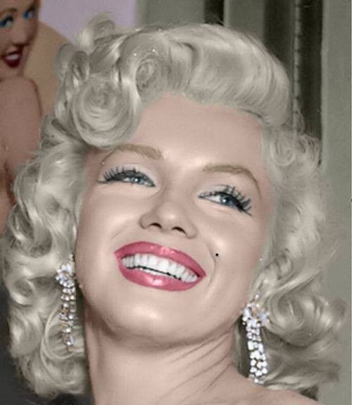 Marilyn Monroe Monroe Color Photo Marilyn monroe