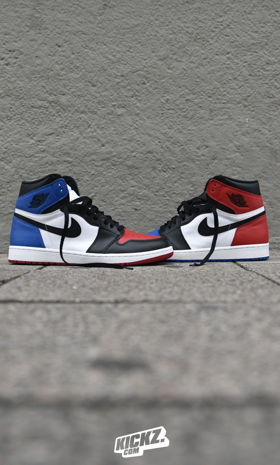 a9cd9f07feba The Air Jordan 1 Retro OG  Top 3  is a mixture between the  Chicago ...