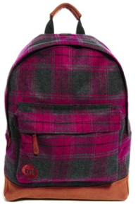 MiPac Plaid Back Pack
