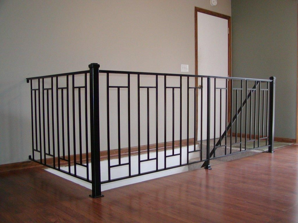 Best Custom Interior Iron Railing Interior Railings Indoor 640 x 480