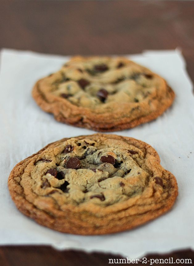 Perfect Chocolate Chip Cookies For Two Because Recipes With A Dozen Or More