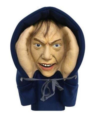 Scary Peeper Creeper Mounts Easily To Any Widow With ...