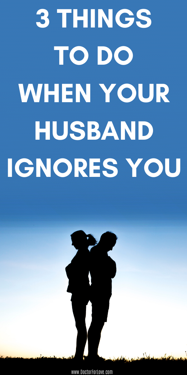 Ignores me wife 5 Signs