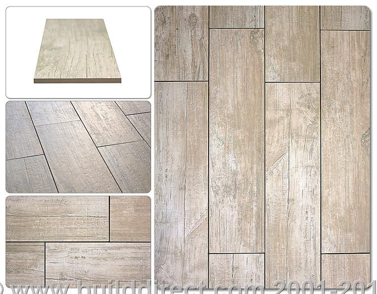 Whitewash Porcelain Tile To Look Like Wood Would Be