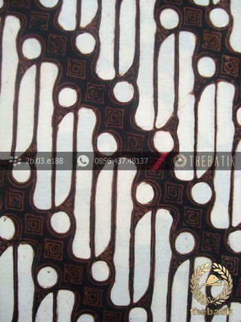 Batik Klasik Jogja Motif Parang Semanggi Seling  httpthebatik