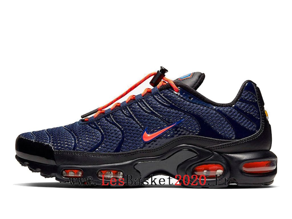 Chaussures Nike Air Max Plus Toggle Bleu Homme Officiel Tn