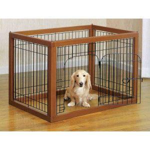 Richell Wood Pet Pens Pens Petsmart Indoor Dog Fence Animal