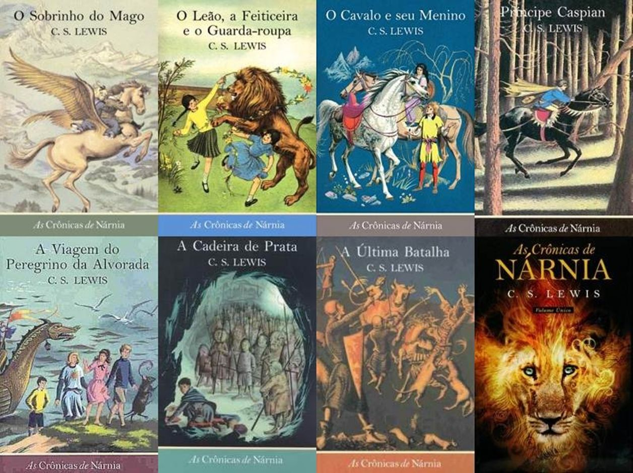 As Cronicas De Narnia As Cronicas De Narnia Livros As