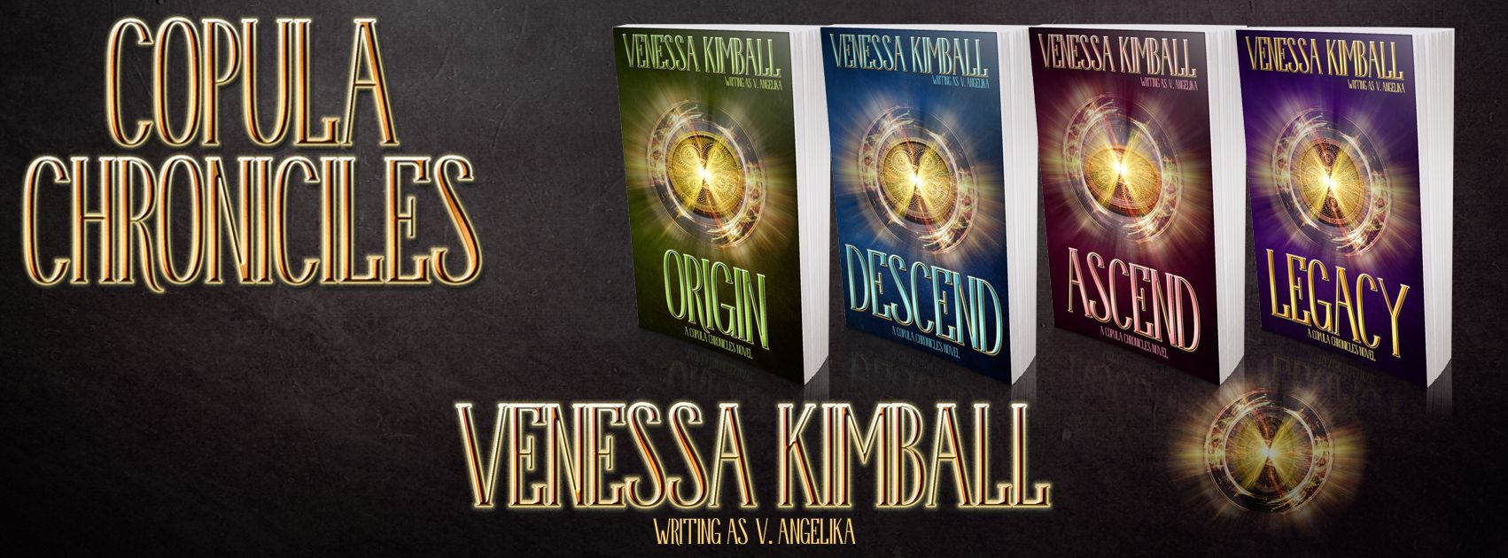 The Copula Chronicles by Venessa Kimball Release Day