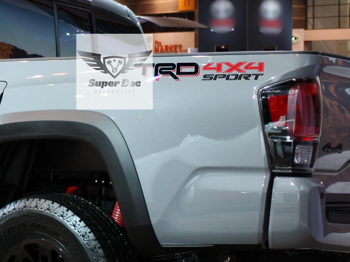 TRD 4x4 PRO Sport Off Road Limited Side Vinyl Stickers
